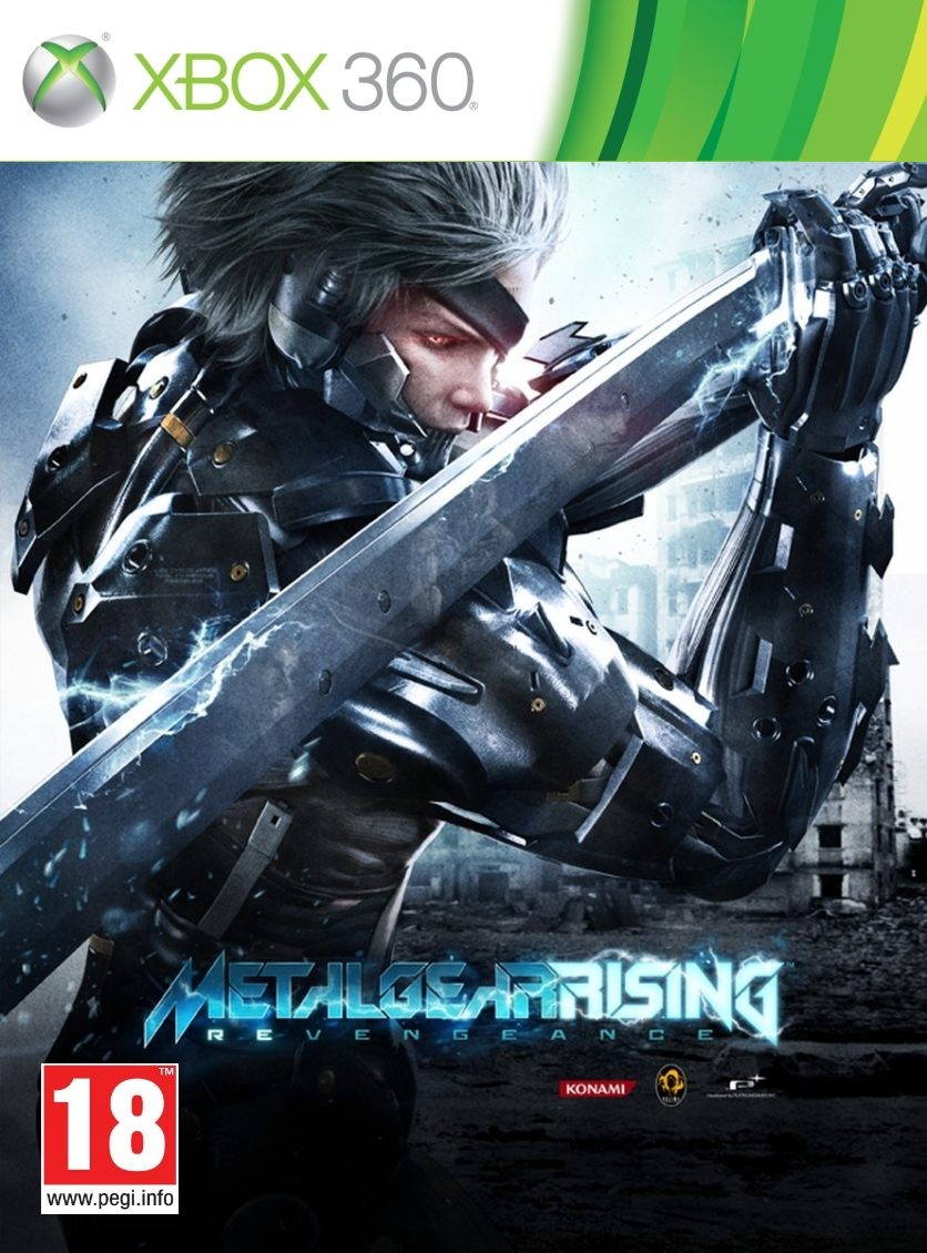 Metal Gear Solid Rising Revengeance  XBO