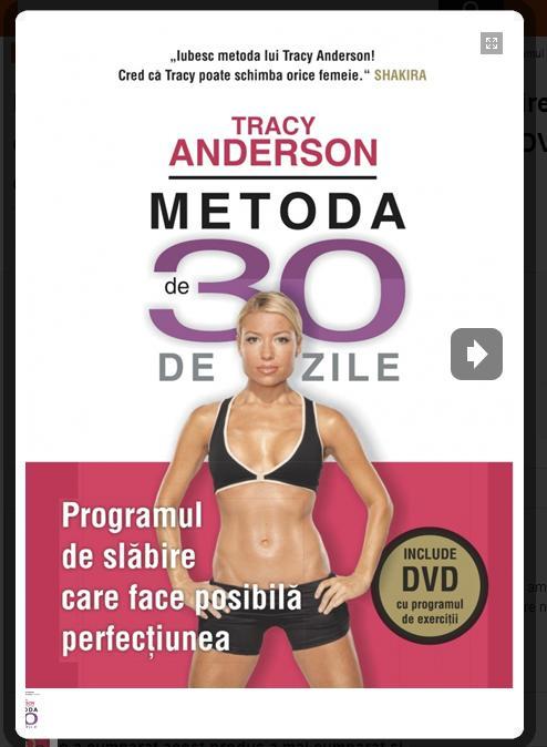 METODA DE 30 DE ZILE. INCLUDE DVD