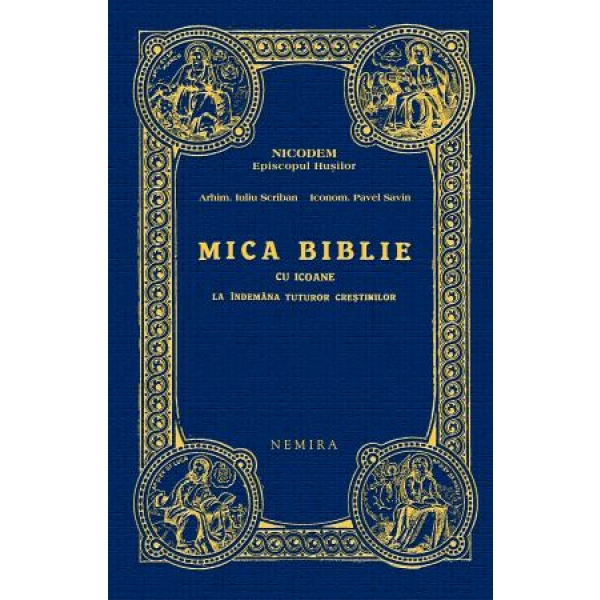 MICA BIBLIE CU ICOANE NE