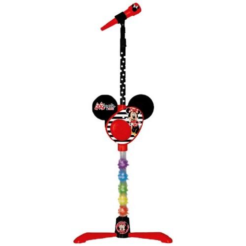 Microfon cu stativ,amplificator,Minnie