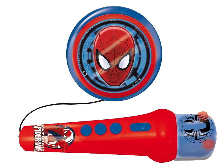 Microfon de mana, Spiderman