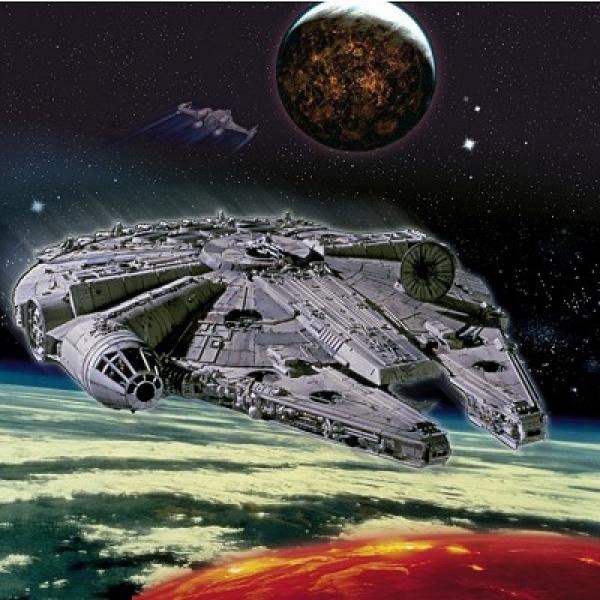Millennium Falcon, 52 pcs.