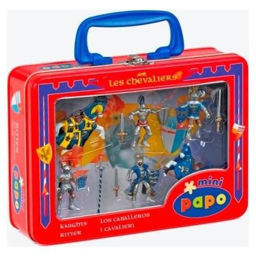 zzMini cutie albastra Cavaleri si cai
