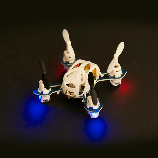 Mini Drona, alb