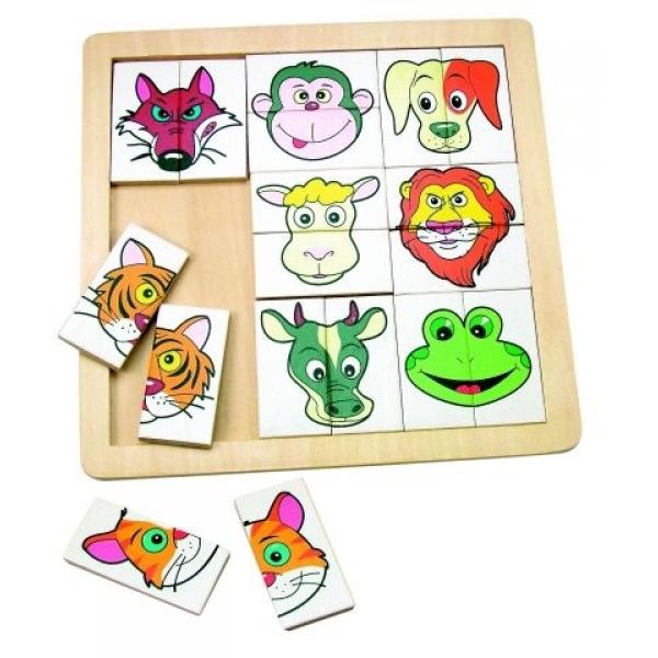 Mini puzzle animale