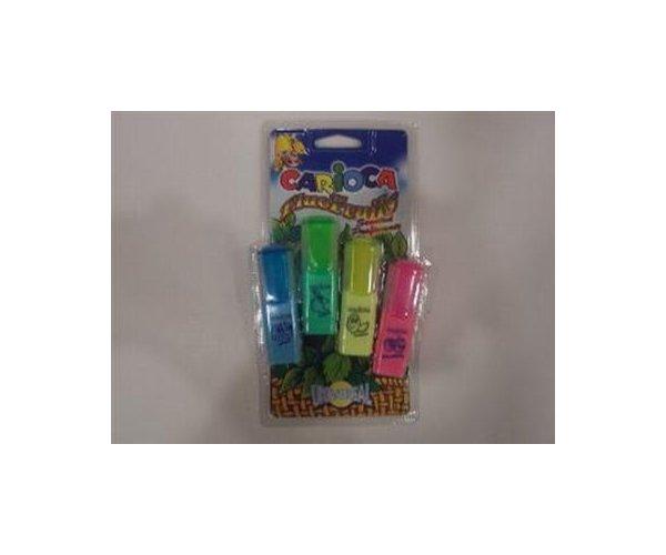 Texmarker Carioca Fluo Fruit mini,4b/s