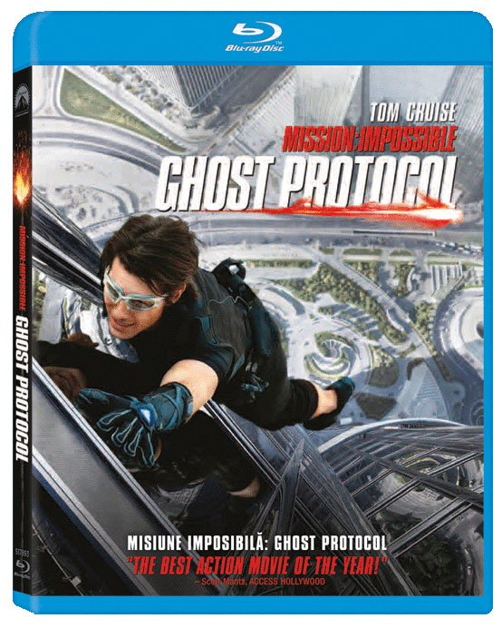 MISSION: IMPOSIBLE. GHOST PROTOCOL (BR)