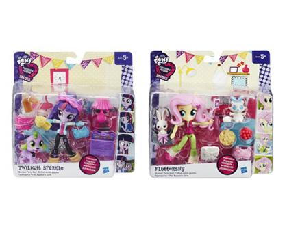 MLP-Papusa Equestria,mini,cu accesorii,div.pers.