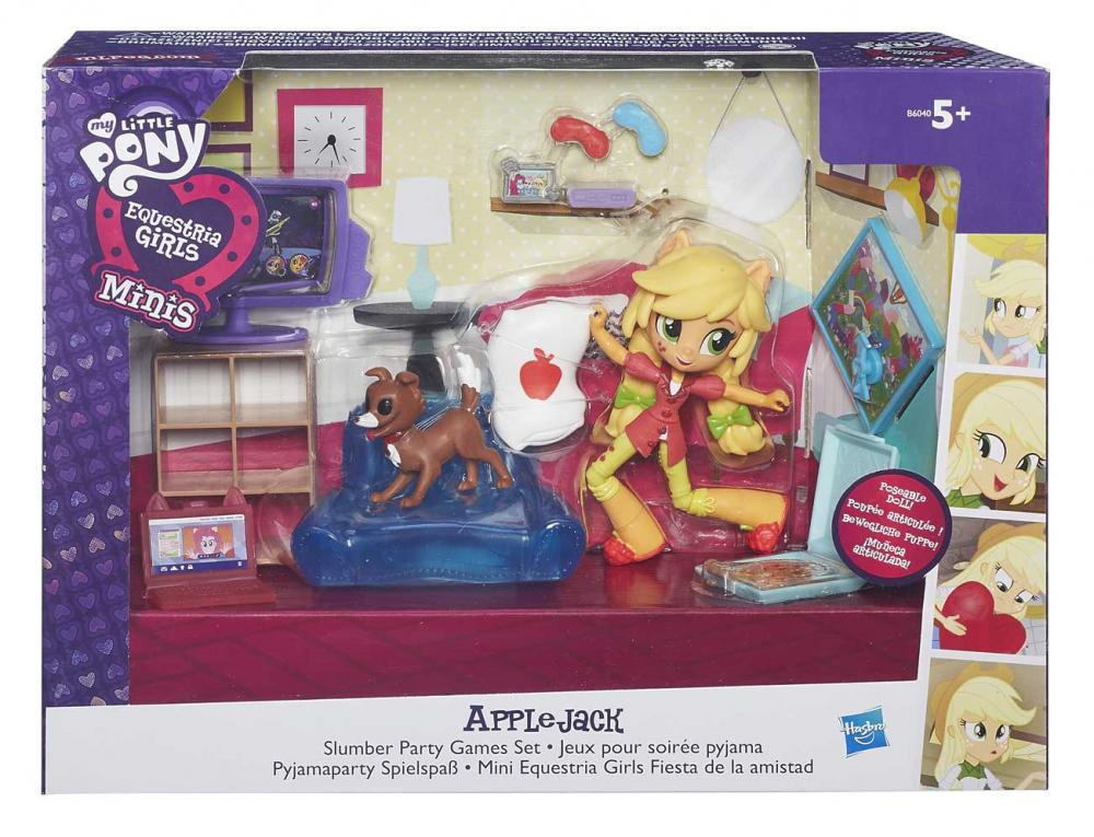 MLP-Papusa Equestria,mini,set tematic.