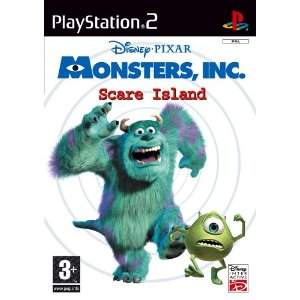 MONSTERS, INC. SCARE ISLAND PS2