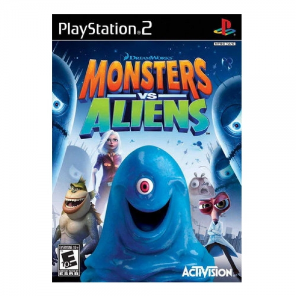 MONSTERS VS ALIENS PS2