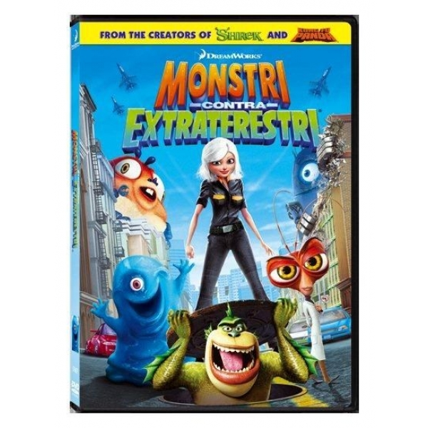 MONSTRI CONTRA EXTRATER MONSTERS VS. ALIENS