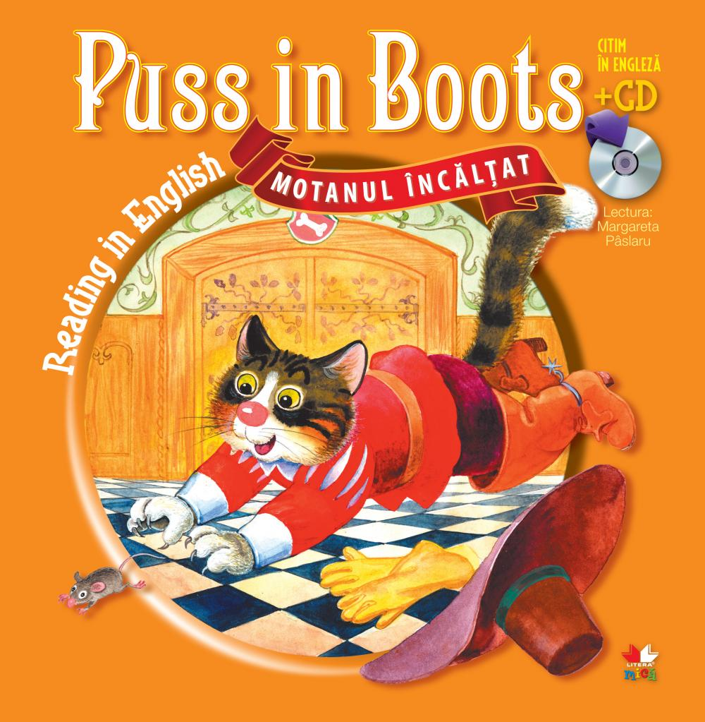 MOTANUL INCALTAT / PUSS IN BOOTS. CARTE + CD.
