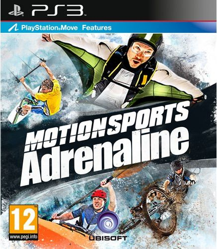 MOTIONSPORTS ADRENALINE (COMPATIBIL MOVE) - PS3