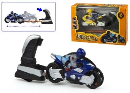 Motocicleta ColorBaby cu lansator