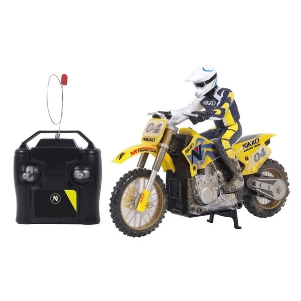 zzMotocicleta Cross RC NIKKO