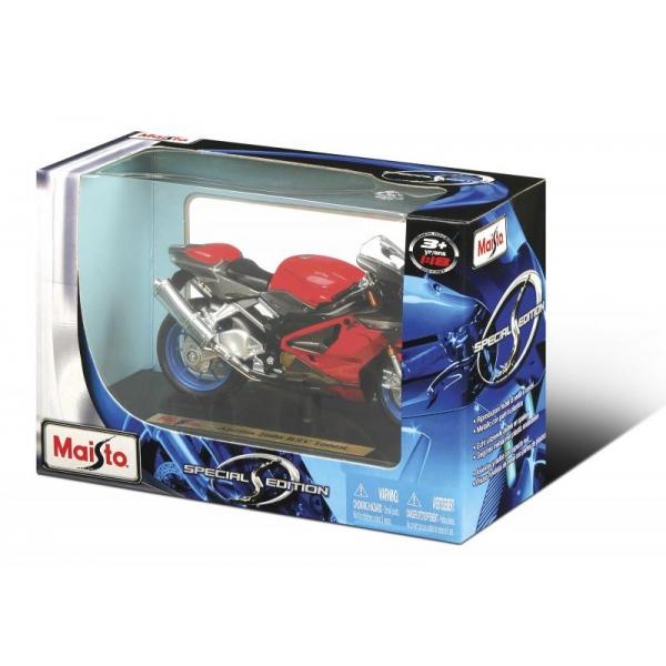 Motocicleta Maisto cu stand 1:18