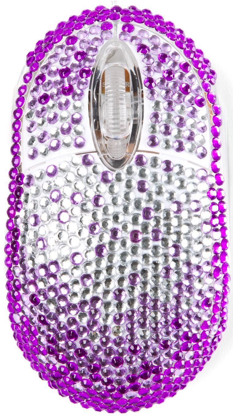 Mouse diamante -purpuriu