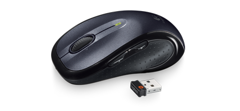 Mouse Logitech M510 Wireless Laser Black