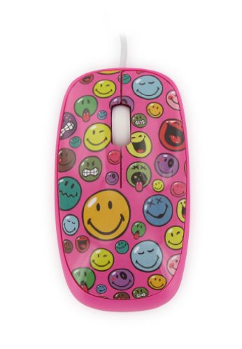 Mouse Smiley World,roz