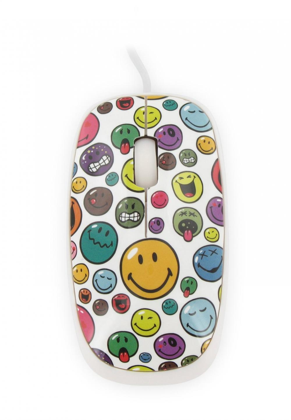 Mouse Smiley World,alb