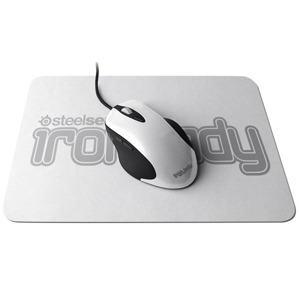 Mouse SteelSeries IronLady IKARI laser (white)