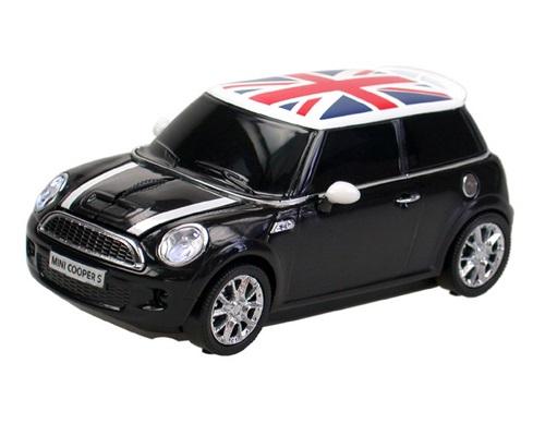 Mouse wireless Mini Cooper S,negru