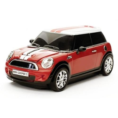 Mouse wireless Mini Cooper S,rosu