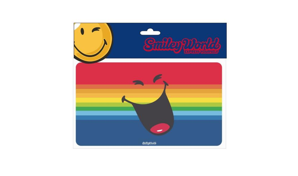Mousepad Smiley World,cu dungi