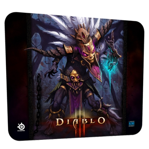Mousepad SteelSeries QcK L.E. (Diablo 3 Witch Doctor)