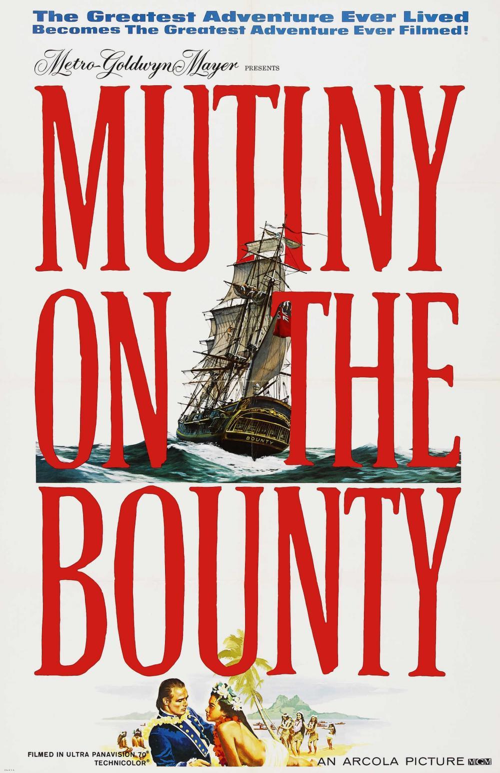 MUTINY ON THE BOUNTY-REVOLTA DE PE BOUNTY