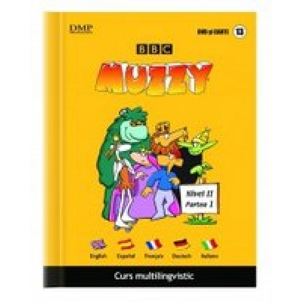 CURS MULTILINGVISTIC MUZZY VOLUMUL 13 CONTINE DVD
