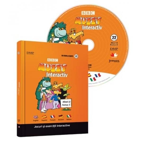 CURS MULTILINGVISTIC. MUZZY VOLUMUL 22 CU CD