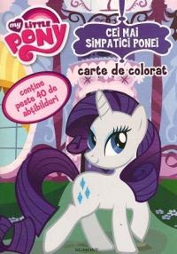 My little pony - Cei mai simpatici ponei - Carte de colorat cu stickere