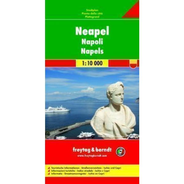 Naples, Pocket Map (1:10.000), ***