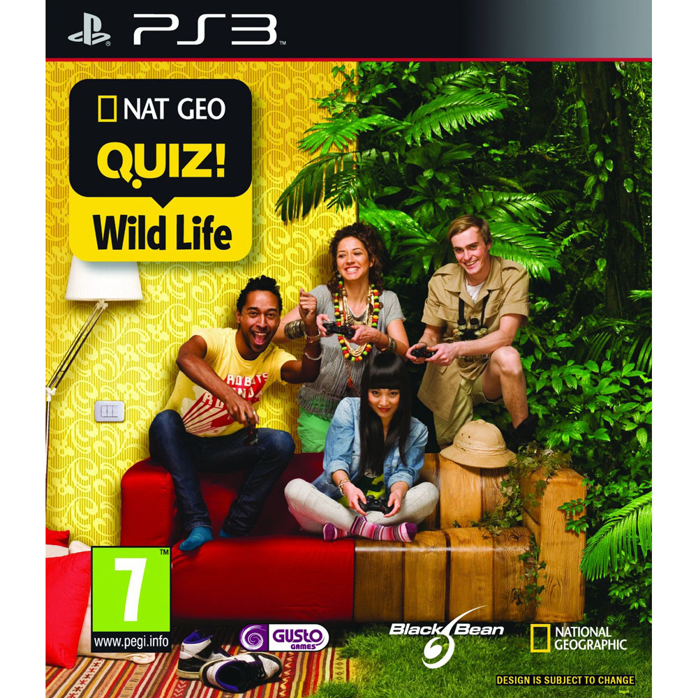 NATIONAL GEOGRAPHIC QUIZ WILD LIFE - PS3