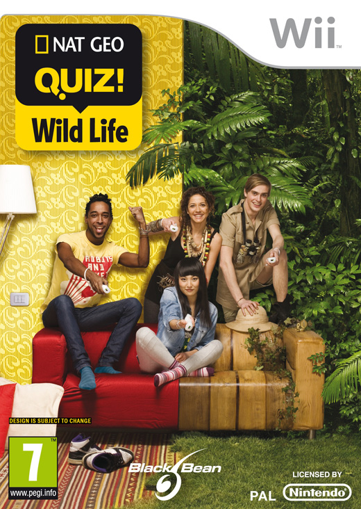 NATIONAL GEOGRAPHIC QUIZ WILD LIFE - WII