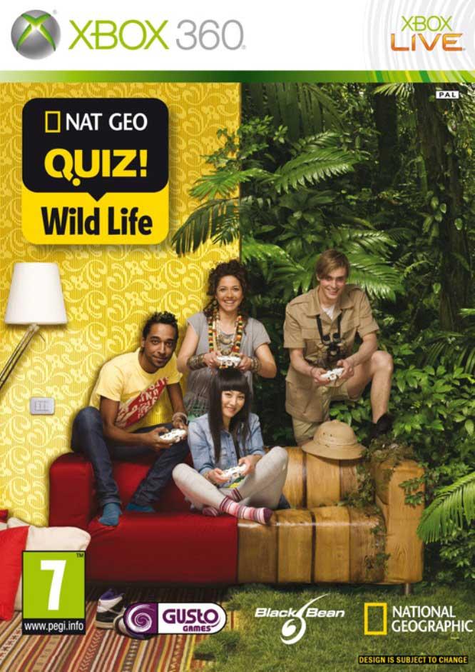 NATIONAL GEOGRAPHIC QUIZ WILD LIFE - XBOX36