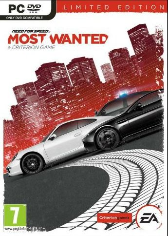 NEED FOR SPEED MOST WANTED LIMITED EDITION - PC