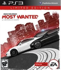 NEED FOR SPEED MOST WANTED LIMITED EDITION - PS3