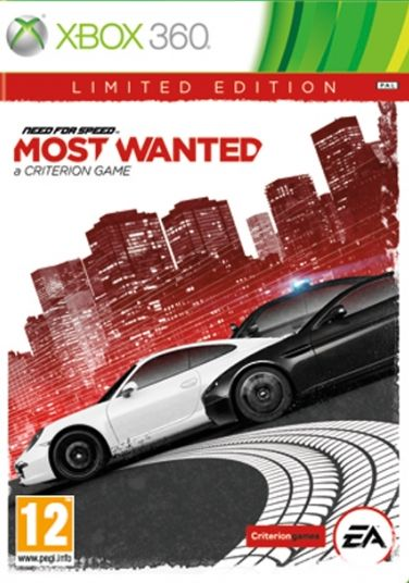 NEED FOR SPEED MOST WANTED LIMITED EDITION - XBOX360