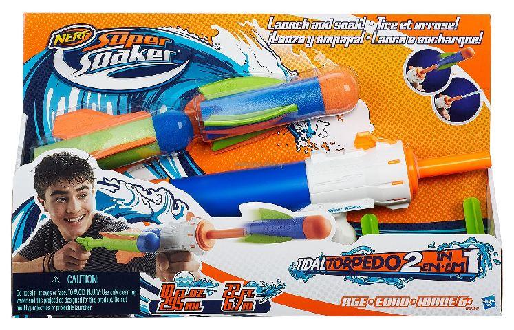 Nerf-Blaster cu apa,Torpedo,2in1