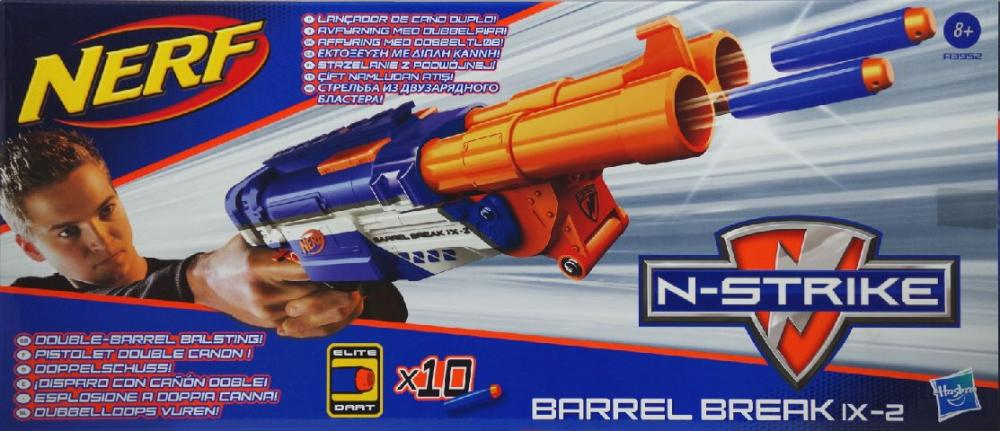 Nerf-Blaster Nstrike Barrel Break