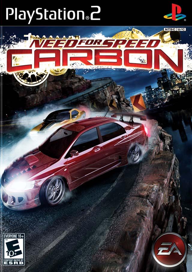 NFS CARBON PS2