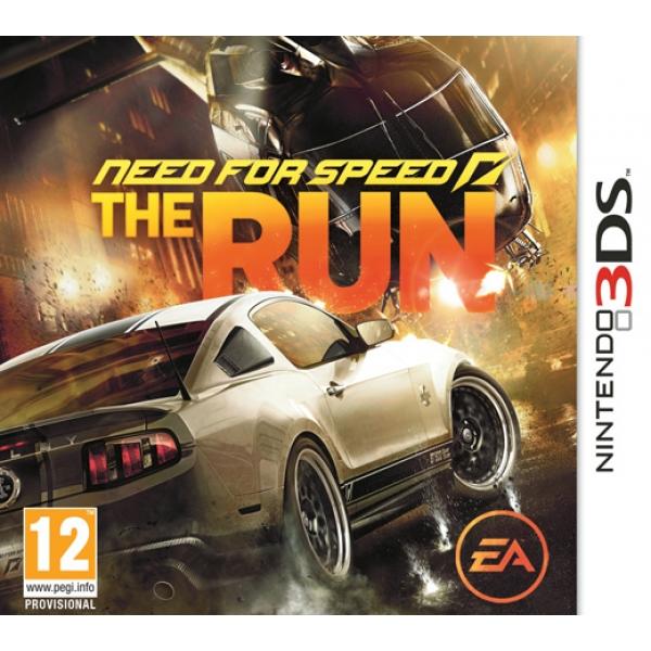 NFS: THE RUN - 3DS