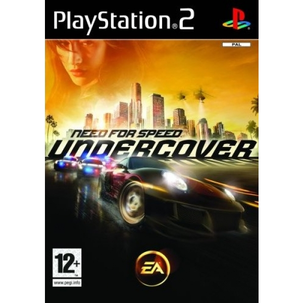NFS UNDERCOVER PS2