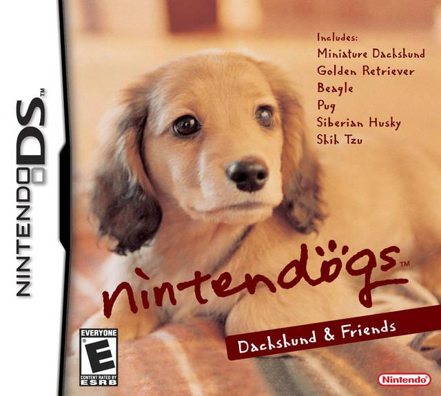 NINTENDOGS DACHSHUND DS