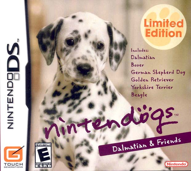 NINTENDOGS DALMATIAN BE DS