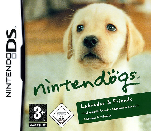 NINTENDOGS LABRADOR DS