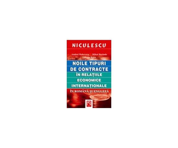 NOILE TIPURI DE CONTRACTE IN RELATIILE ECONOMICE